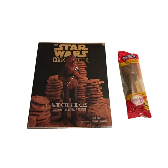 Star Wars Cookbook and Pez
